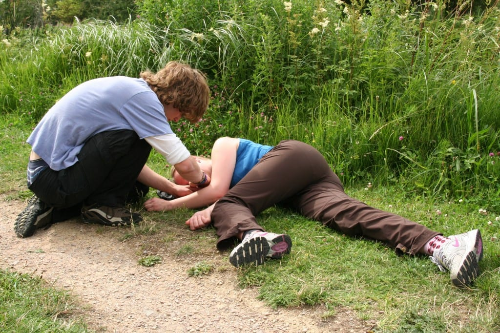 Level 3 Award in Outdoor First Aid Emergency Action